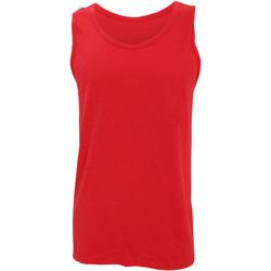 textil Hombre Camisetas sin mangas Gildan 64200 Rojo