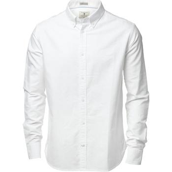 textil Hombre Camisas manga larga Nimbus NB45M Blanco