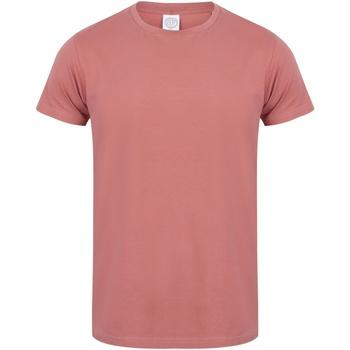 textil Hombre Camisetas manga corta Skinni Fit SF121 Arcilla