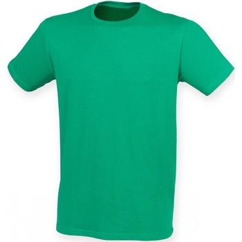 textil Hombre Camisetas manga corta Skinni Fit SF121 Verde