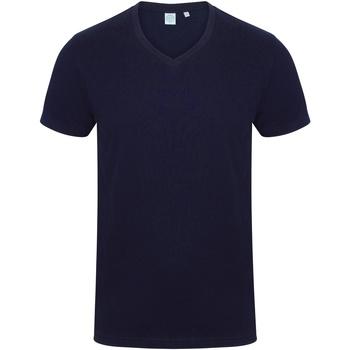 textil Hombre Camisetas manga corta Skinni Fit SF122 Azul marino
