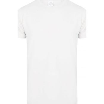 textil Hombre Camisetas manga corta Skinni Fit SF122 Blanco