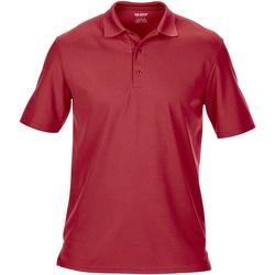 textil Hombre Polos manga corta Gildan GD046 Rojo