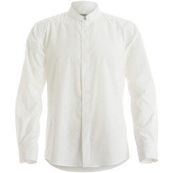 textil Hombre Camisas manga larga Kustom Kit KK161 Blanco