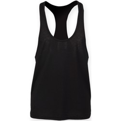 textil Hombre Camisetas sin mangas Skinni Fit SF236 Negro