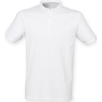 textil Hombre Polos manga corta Skinni Fit SF440 Blanco