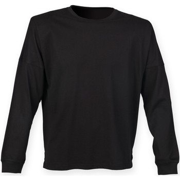 textil Hombre Sudaderas Skinni Fit Slogan Negro