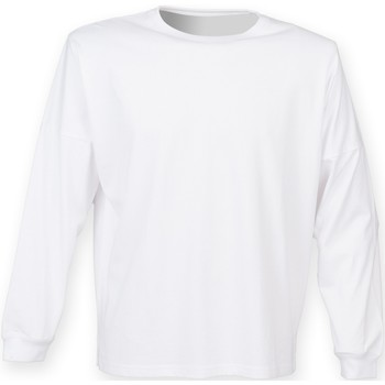 textil Hombre Sudaderas Skinni Fit Slogan Blanco