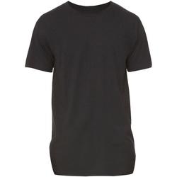 textil Hombre Camisetas manga corta Bella + Canvas Long Body Negro