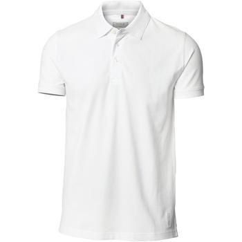 textil Hombre Polos manga corta Nimbus NB52M Blanco