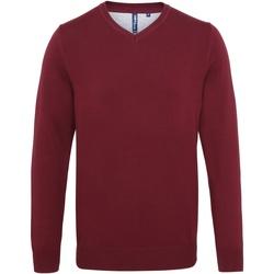 textil Hombre Jerséis Asquith & Fox AQ042 Vino
