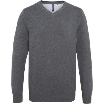 textil Hombre Jerséis Asquith & Fox AQ042 Carbón