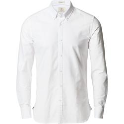 textil Hombre Camisas manga larga Nimbus NB66 Blanco
