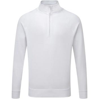 textil Hombre Jerséis Russell 1/4 Zip Blanco