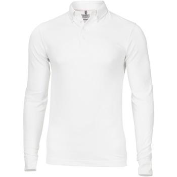 textil Hombre Polos manga larga Nimbus NB71M Blanco
