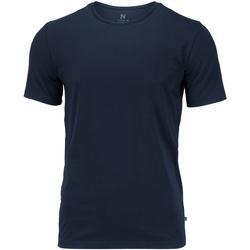 textil Hombre Camisetas manga corta Nimbus NB73M Azul marino