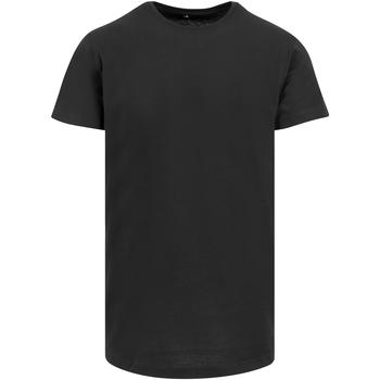 textil Hombre Camisetas manga corta Build Your Brand Shaped Negro
