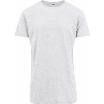 textil Hombre Camisetas manga corta Build Your Brand Shaped Blanco
