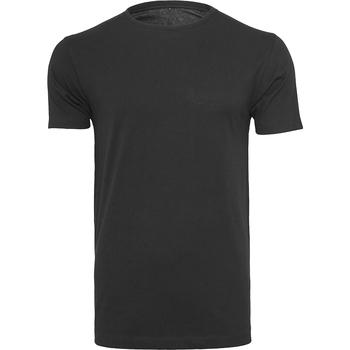 textil Hombre Camisetas manga corta Build Your Brand BY005 Negro