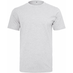 textil Hombre Camisetas manga corta Build Your Brand Round Neck Blanco