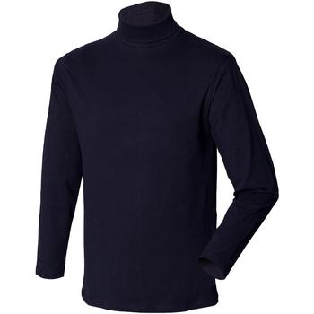 textil Hombre Jerséis Henbury HB020 Azul marino