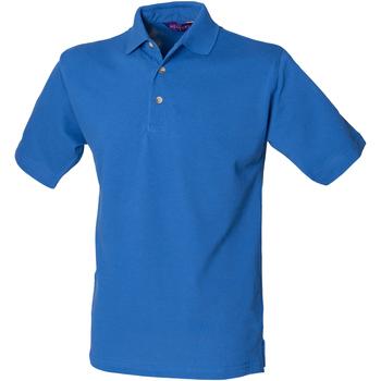 textil Hombre Polos manga corta Henbury HB100 Azul