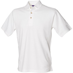 textil Hombre Polos manga corta Henbury HB100 Blanco