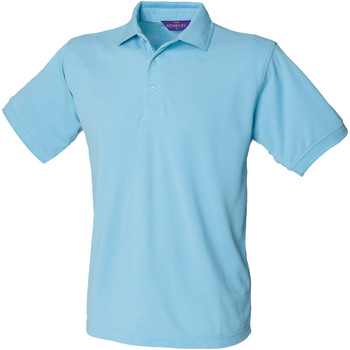 textil Hombre Polos manga corta Henbury HB400 Azul cielo