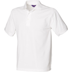 textil Hombre Polos manga corta Henbury HB400 Blanco
