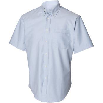 textil Hombre Camisas manga corta Henbury HB515 Azul