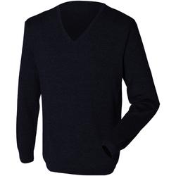 textil Hombre Jerséis Henbury 12 Gauge Azul marino
