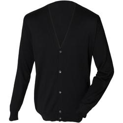 textil Hombre Chaquetas de punto Henbury HB722 Negro