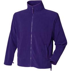 textil Hombre Polaire Henbury  Púrpura