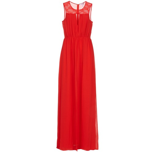 Largos Vestidos Lonu Mujer Bcbgeneration Textil Rojo OuPikXTZ