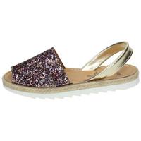 Zapatos Mujer Sandalias Avarca Menorquina Menorquina multi Multicolor
