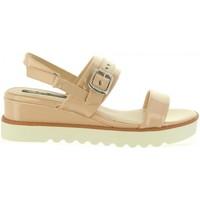 Zapatos Mujer Sandalias MTNG 50023 Beige