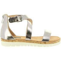 Zapatos Mujer Sandalias MTNG 57594 DAMA Plateado