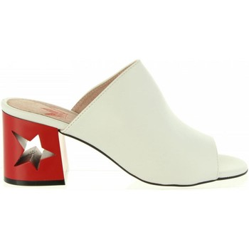 Zapatos Mujer Chanclas MTNG 50718 GENTLE Blanco