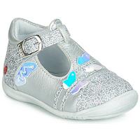 Zapatos Niña Bailarinas-manoletinas GBB MERTONE Plata