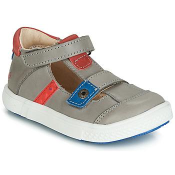 Zapatos Niño Sandalias GBB VORETO Gris / Azul / Rojo