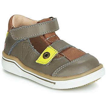 Zapatos Niño Sandalias GBB PORRO Gris / Amarillo