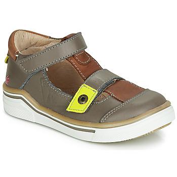 Zapatos Niño Sandalias GBB PORRO Gris / Marrón
