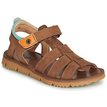 Zapatos Niño Sandalias GBB PATHE Marrón