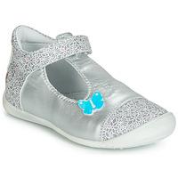 Zapatos Niña Bailarinas-manoletinas GBB MERCA Plata