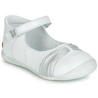 Zapatos Niña Bailarinas-manoletinas GBB MALLA Blanco