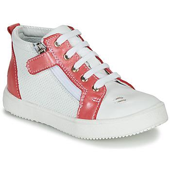 Zapatos Niña Zapatillas altas GBB MIMOSA Vte / Blanco- coral / Dpf / Dinner