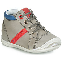 Zapatos Niño Zapatillas altas GBB TARAVI Gris / Rojo / Azul