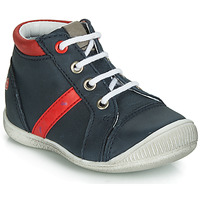Zapatos Niño Zapatillas altas GBB TARAVI Marino / Rojo
