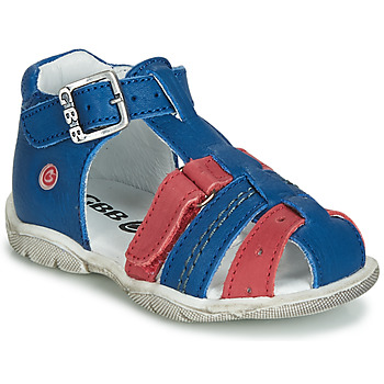 Zapatos Niño Sandalias GBB ARIGO Azul / Rojo