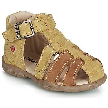 Zapatos Niño Sandalias GBB PRIGENT Mostaza